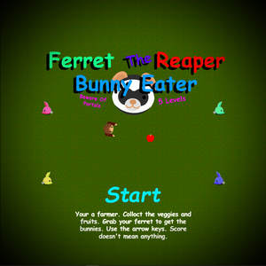 Ferret The Reaper: Bunny Eater game