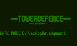 Towerdefence game