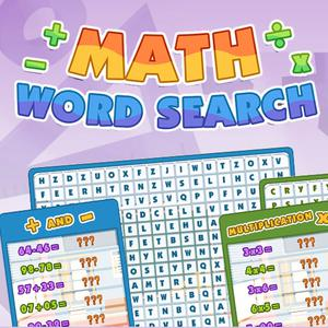 play Math Word Search