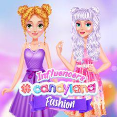 Influencers #Candyland Fashion game