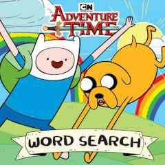 Adventure Time Word Search game