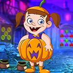 play Unattractive Pumpkin Girl Escape