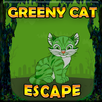 G2J Greeny Cat Escape game