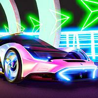 Cyber Cars Punk Racing game