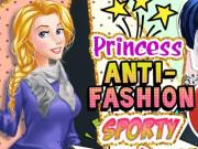 play Princess Anti-Fashion: Sporty And Classy