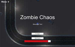 Zombie Chaos game
