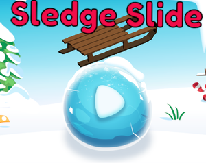 Sledge Slide game