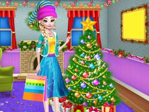 play Christmas Tree Decoration And Dress Up