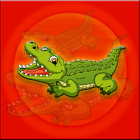 Alligator-Escape game