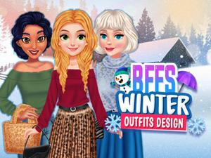 Bffs Winter Outfits Design game
