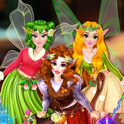 Winter Fairy Fashion Show game