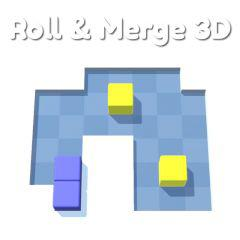 play Roll & Merge 3D