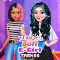 Influencers Soft Vs E-Girl Trends game