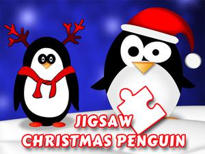 Christmas Penguin Puzzle game