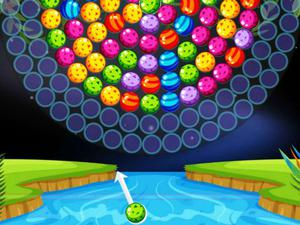 Bubble Shooter Wheel game