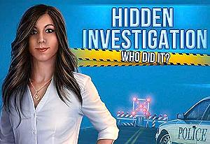 Hidden Investigation Who Did It game