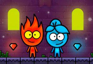 Flameboy And Watergirl The Magic Temple game