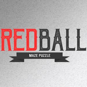 play Red Ball Maze Puzzle