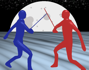 play Moonlight Fencing