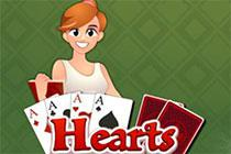 Hearts Kartenspiel game