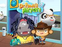 play Dr. Panda Airport
