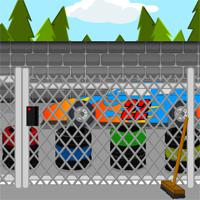 Racetrack-Escape game