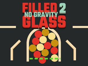 Filled Glass 2 No Gravity game
