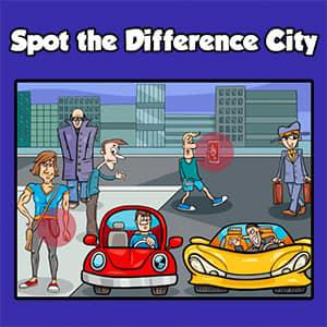 Spot The Difference City game