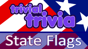 Trivial Trivia! Usa State Flags game