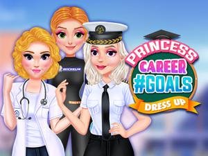 Princess Career #Goals Dress Up game