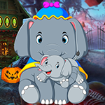 Unruffled Elephant Escape game