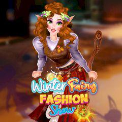 play Winter Fairy Fashion Show