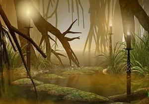 Mysterious Swamp Escape (365 Escape game