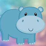 Baby Hippo Escape game