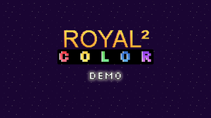 Royal Squared Color Demo game