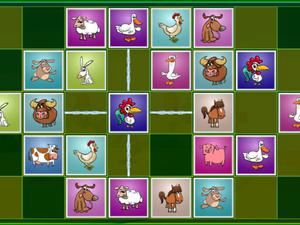 play Farm Animals Matching Puzzles