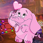 play Pink Elephant Escape