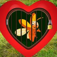 play Love Golden Bee Escape Html5