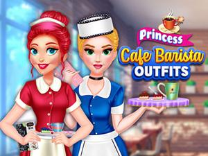 Princess Cafe Barista Outfits game