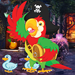 play Ecstatic Pirate Parrot Escape