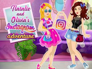 Natalie And Olivia'S Social Media Adventure game
