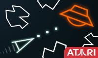 play Atari Asteroids