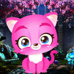 play Palani Graceful Pink Cat Escape