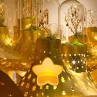 play Glittering House Gold Escape Html5