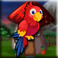 play G2J Lovely Macaw Escape