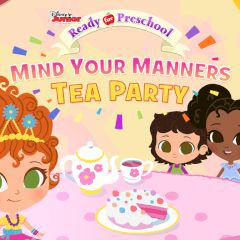 play Ready For Preschool Mind Your Manners Tea Party