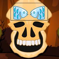 G2M Brown Skull Forest Escape game