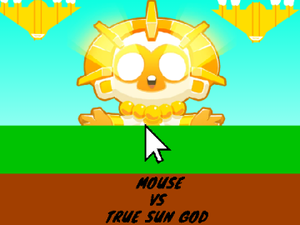 Mouse Vs True Sun God game