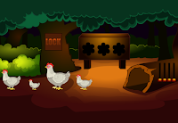 G2M Fowl Land Escape Html5 game