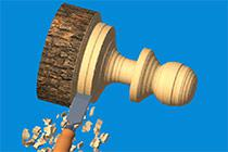 Woodturning 3D game